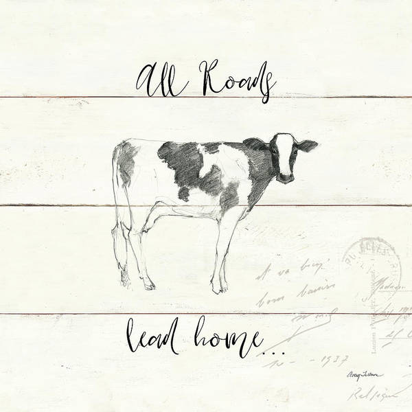Wall Art - Painting - Life At Home IIi Shiplap by Avery Tillmon