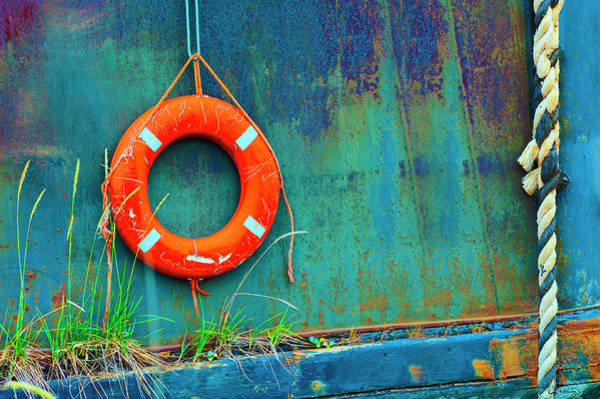 Photograph - Life Buoy by Dee Browning