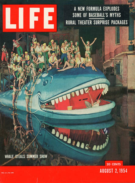Photograph - Life Cover 08-02-1964 Of Actors Riding by Gordon Parks