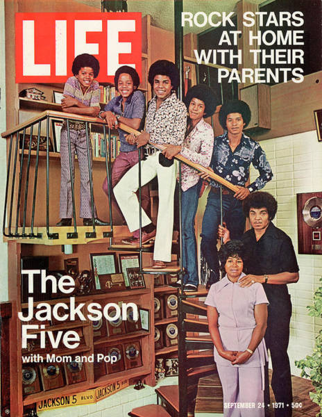 Wall Art - Photograph - Life Cover 09-24-1971 Featuring The by John Olson