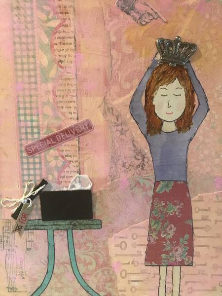 Wall Art - Mixed Media - Life Happens For You by Shanon Buffington