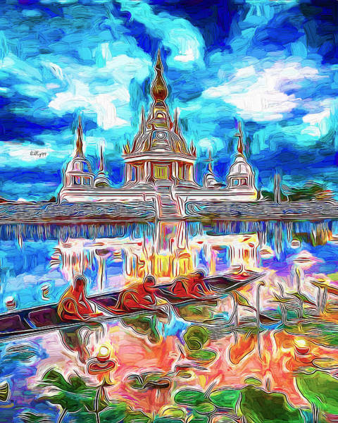 Wall Art - Painting - Life In Asia by Nenad Vasic
