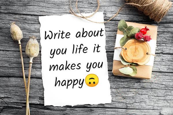 Wallpaper Mixed Media - Life Inspiration Quote by Saurabh Lakhera