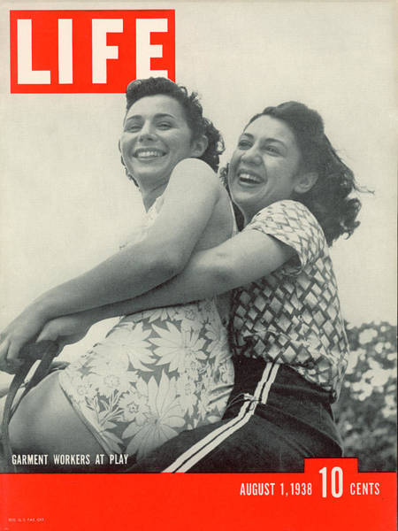 Poconos Wall Art - Photograph - Life Magazine Cover August 1, 1938 by Hansel Mieth