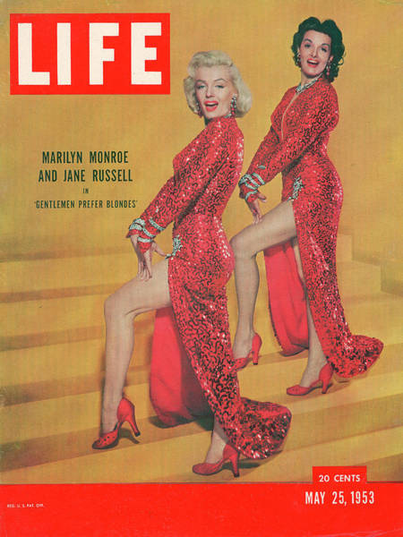 Sex Symbol Photograph - Life Magazine Cover May 25, 1953 by Ed Clark