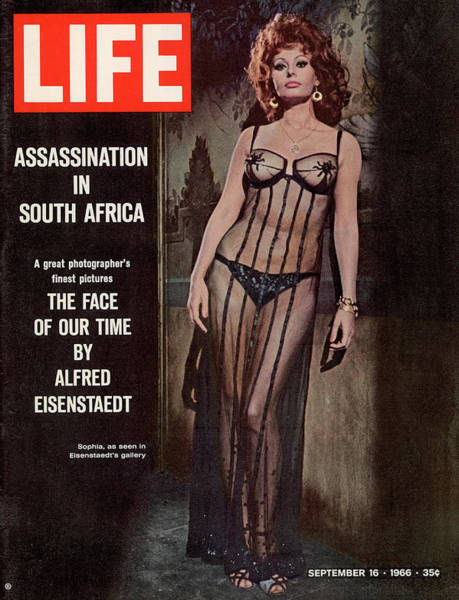 Sex Symbol Photograph - Life Magazine Cover September 16, 1966 by Alfred Eisenstaedt