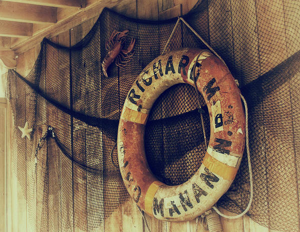 Photograph - Life Saver Decor In Nova Scotia by Tatiana Travelways