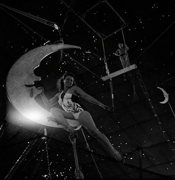 Bailey Photograph - Life Visits The Circus In Florida- by Nina Leen