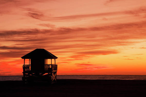 Photograph - Lifeguard Post by Buena Vista Images