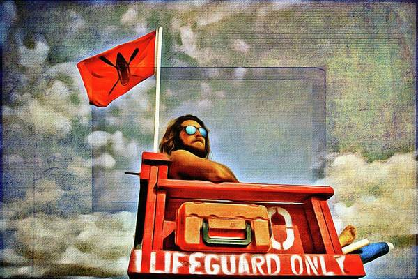 Photograph - Lifeguard Stellar by Alice Gipson