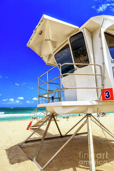 Photograph - Lifeguard View At Fort Lauderdale Beach by John Rizzuto