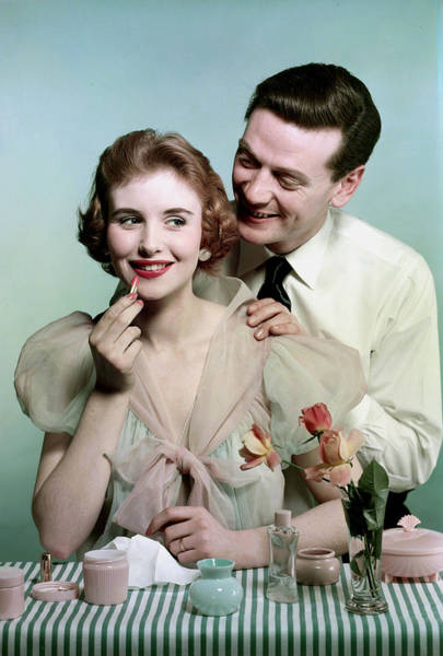 Lifestyle. Couples. Pic 1959. A Man Art Print