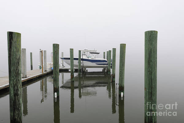 Photograph - Lifted Up Into The Fog - Rivertowne On The Wando by Dale Powell