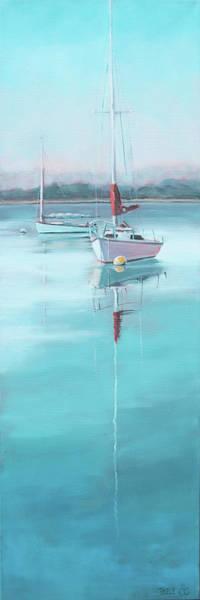 Painting - Lifting Fog by Trina Teele