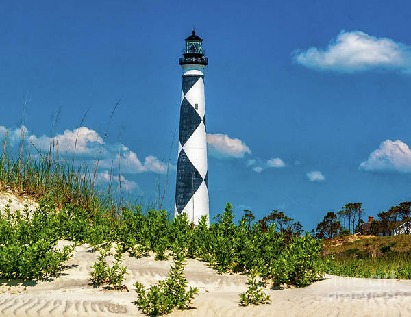 Photograph - Lighthouse At Cape Lookout Nc by Nick Zelinsky