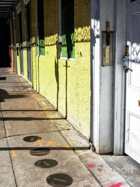 Photograph - Light And Shadows In The French Quarter New Orleans by John Rizzuto