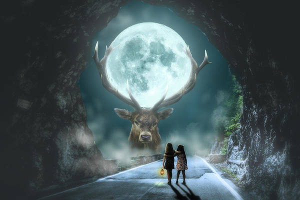Wall Art - Digital Art - Light At The End Of The Tunnel by Nathan Wright