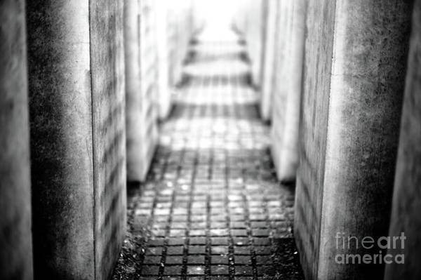 Wall Art - Photograph - Light At The Holocaust Memorial In Berlin by John Rizzuto
