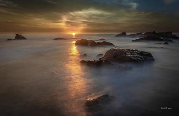 Photograph - Light Curl by Tim Bryan