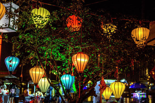 Hoi An Photograph - Light Decoration by Tom Norring