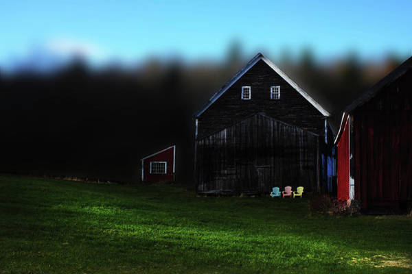 Photograph - Light Fades On Broadacres Original by Wayne King