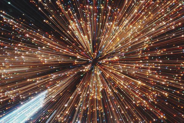 Photograph - Light Fantastic by Alfred Gescheidt