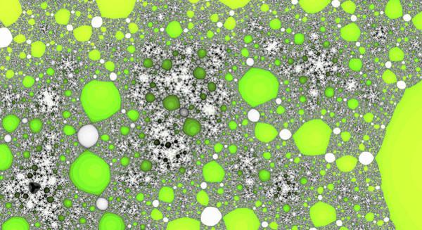 Digital Art - Light Green Lunar Overhead Fine Art by Don Northup