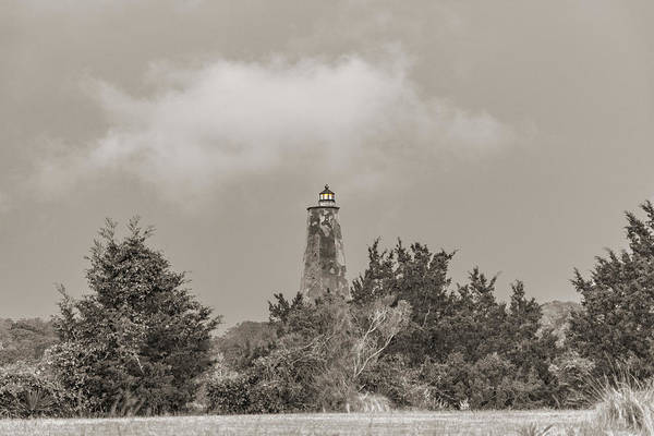 Wall Art - Photograph - Light In The Distance Bald Head Island Lighthouse by Betsy Knapp