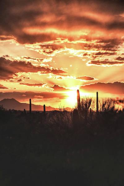 Light Of Arizona Art Print