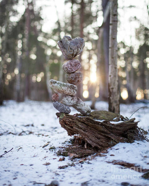 Sculpture - Light Of The Heart by Pontus Jansson