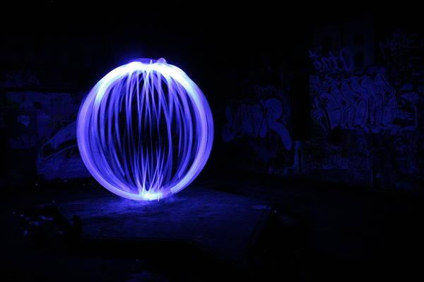 Light Photograph - Light Painted by Blaisone - Todd A. Blaisdell