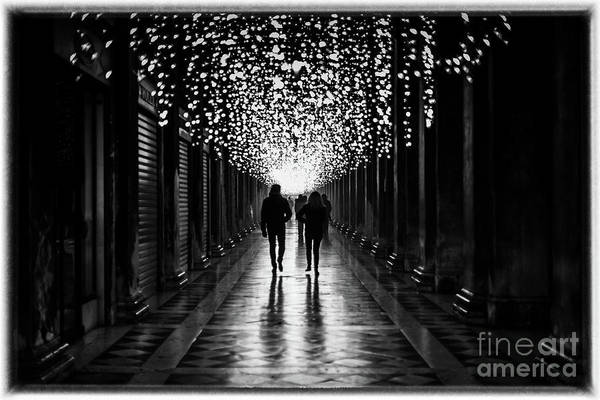 Photograph - Light, Shadows And Symmetry by Lyl Dil Creations