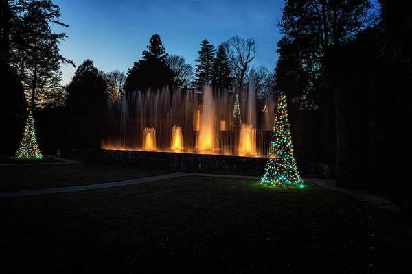 Photograph - Light Show Display by Tom Singleton