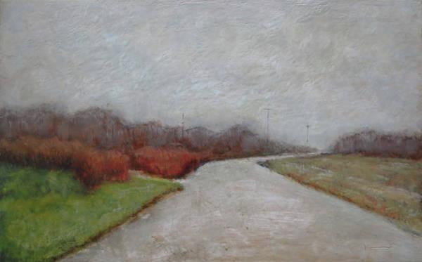 Kavanaugh Painting - Light Snow by Keith Kavanaugh