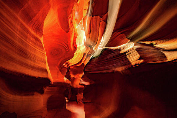 Photograph - Inner Light - Antelope Canyon - Page Arizona by Gregory Ballos
