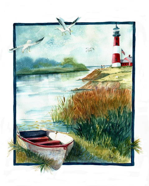Painting - Lighthouse 1 by Marilyn Smith