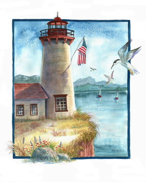 Painting - Lighthouse 2 by Marilyn Smith