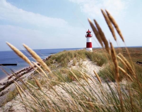Wall Art - Photograph - Lighthouse And Barrier Dunes, Near by Hauke Dressler / Look-foto