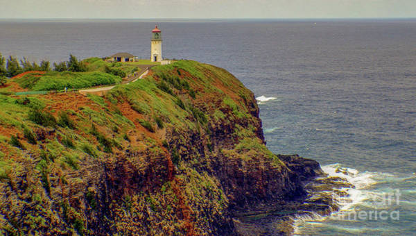 Photograph - Lighthouse At Kilauea Point  Kauai Hawaii by D Davila