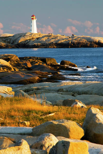 Wall Art - Photograph - Lighthouse At Peggys Cove 2 by Dmathies