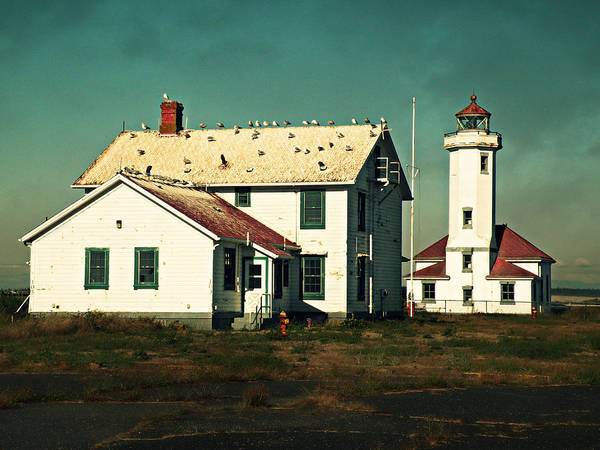 Photograph - Lighthouse At Port Townsend by Micki Findlay