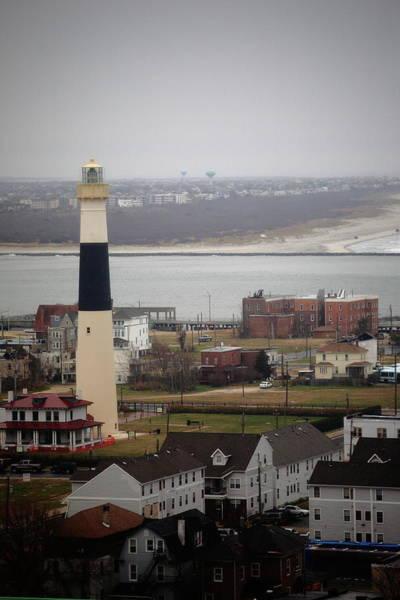 Photograph - Lighthouse - Atlantic City by Frank Romeo