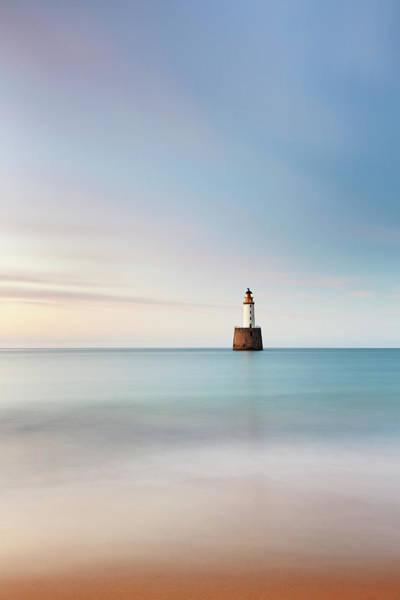Photograph - Lighthouse Blues by Grant Glendinning
