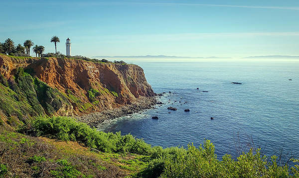 Point Vicente Wall Art - Photograph - Lighthouse Cliff by R Scott Duncan