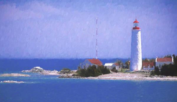 Photograph - Lighthouse by Darrel Giesbrecht