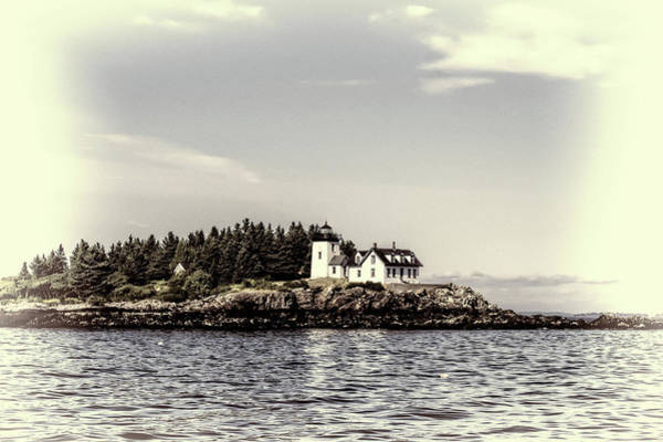 Photograph - Lighthouse Fadeout by Kay Brewer