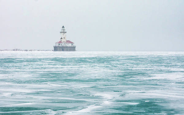 Photograph - Lighthouse Fog by Framing Places
