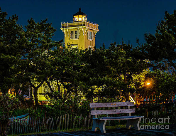 Photograph - Lighthouse From The Seawall by Nick Zelinsky