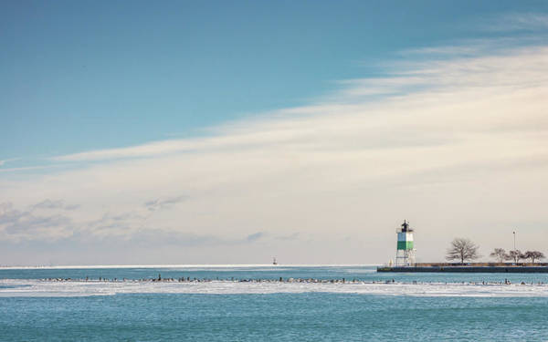 Photograph - Lighthouse Haze by Framing Places