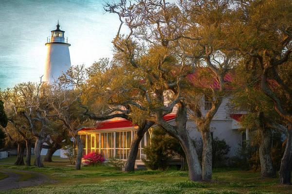 Photograph - Lighthouse Ocracoke Island by Cindy Lark Hartman